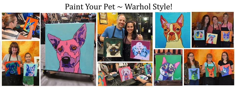 Paint Your Pet Warhol