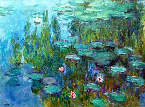 Monet's Waterlilies #2
