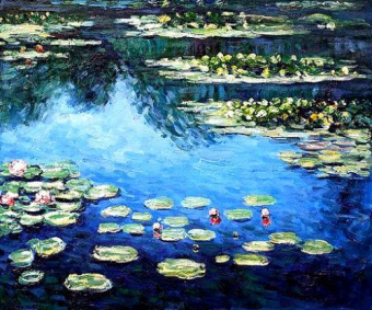 Folsom Family Room 7/7: Monet's Waterlilies #1 ~ SUPER SPECIAL ~ $10 Off ~ All ages welcome!  No alcohol class