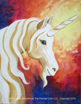 IN STUDIO CLASS ~ Folsom Family Room 7/7: Mystic Unicorn ~ SUMMER BREAK SPECIAL ~ $5 Off ~ All ages welcome!