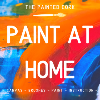 PAINT AT HOME! ~ Pick up your kit at our FOLSOM studio on 7/11