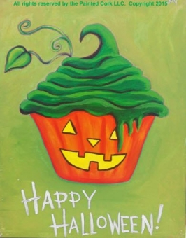 Folsom Family Room 9/26: Pumpkin Cupcake ~ FAMILY SPECIAL $5 Off ~ All ages welcome