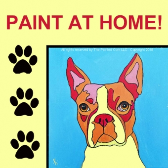 PAINT YOUR PET ~ AT HOME! ~ Warhol Style!  Pick up your paint kit at our FOL studio on 7/18