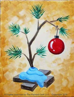 VIRTUAL CLASS 12/3: Charlie Brown Christmas Tree!