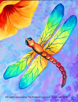 Folsom Family Room 7/8: Tie Dye Dragonfly ~ SUMMER SPECIAL ~ ONLY $25! ~ All ages welcome!
