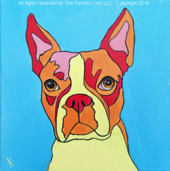 Folsom Family Room 7/19: Paint Your Pet Warhol style ~ All ages welcome ~ No Alcohol Event